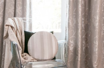 Soft Silver Curtains