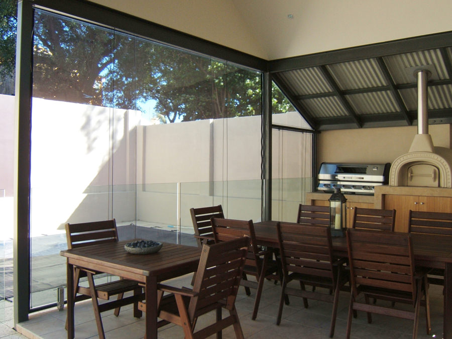 PVC Alfresco Blinds, Abbey Blinds Perth, Western Australia