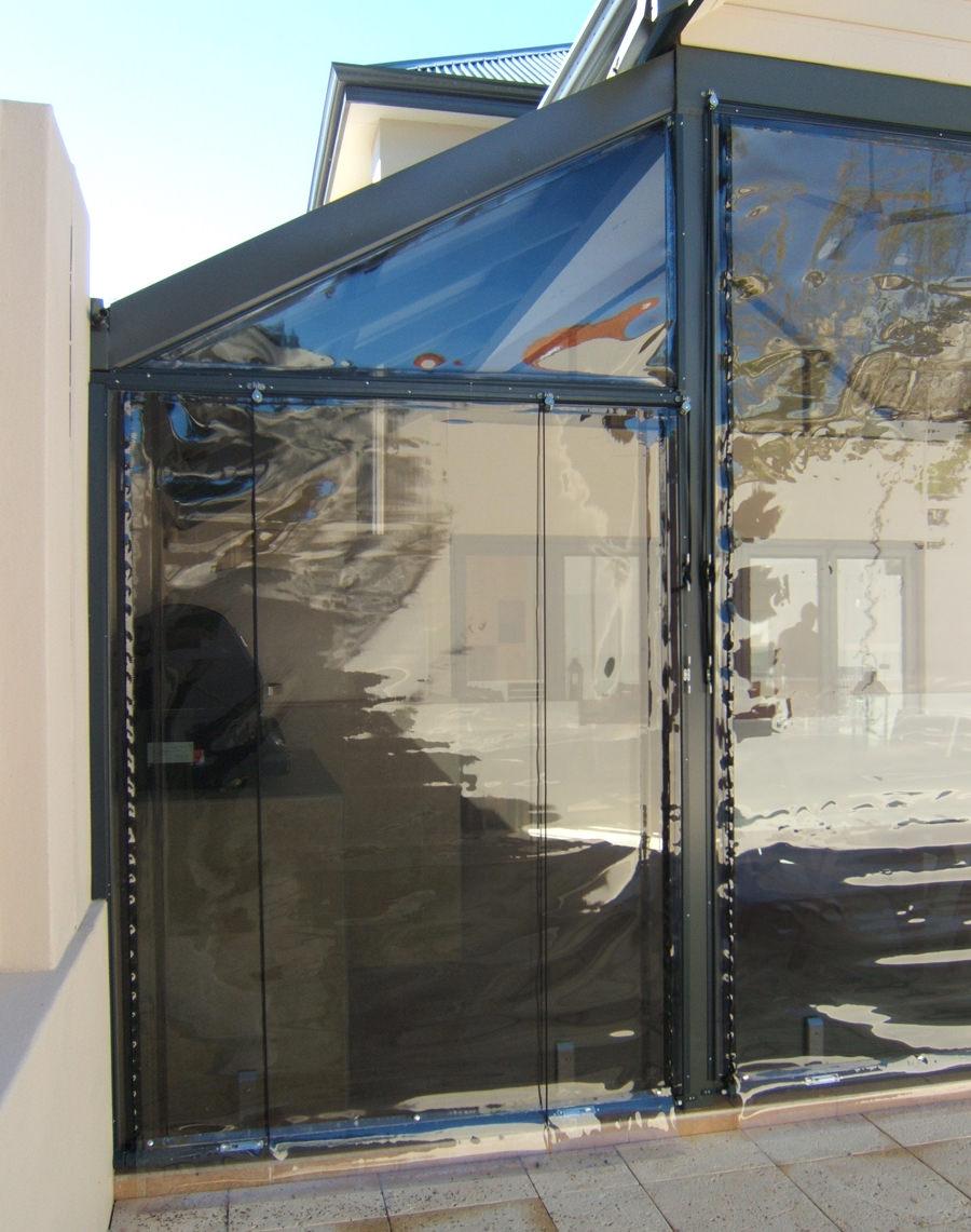 PVC Alfresco Blinds, Abbey Blinds Perth, Western Australia