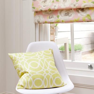 Charles Parsons Soft Roman Blinds Folia Curtain Fabric
