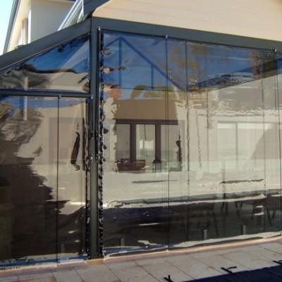 PVC Outdoor Tinted Alfresco  Blind